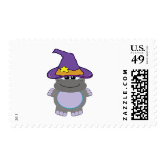 witchy goofkins hippo postage stamp