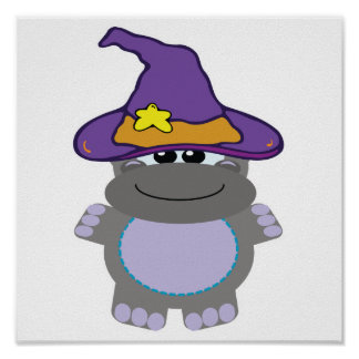 witchy goofkins hippo print