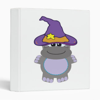 witchy goofkins hippo vinyl binder