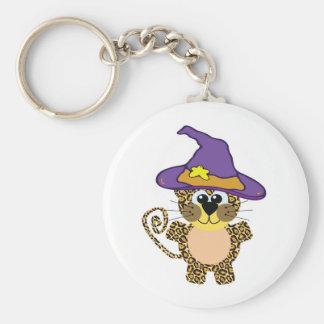 witchy goofkins leopard keychain