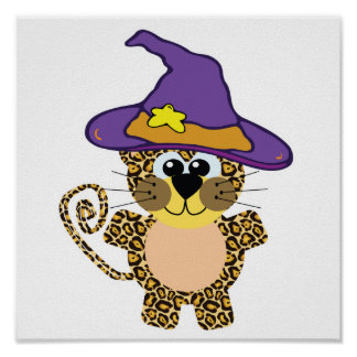 witchy goofkins leopard posters