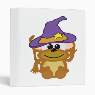 witchy goofkins monkey 3 ring binders