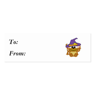 witchy goofkins monkey business card templates