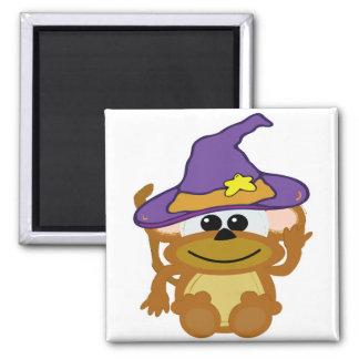 witchy goofkins monkey fridge magnet