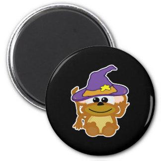 witchy goofkins monkey fridge magnets