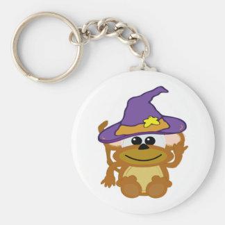 witchy goofkins monkey keychain