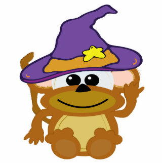 witchy goofkins monkey photo cut outs