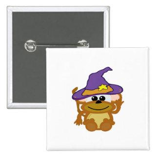 witchy goofkins monkey pin