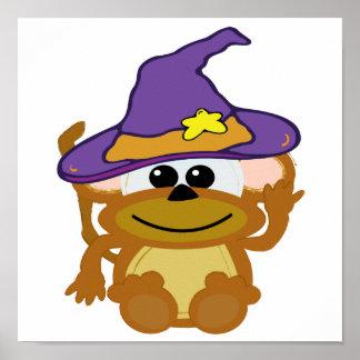 witchy goofkins monkey print