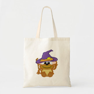 witchy goofkins monkey tote bag