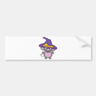 witchy goofkins mouse bumper sticker