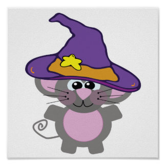 witchy goofkins mouse poster