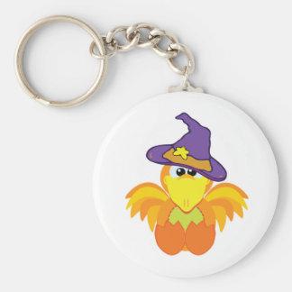 witchy goofkins orange bird key chains