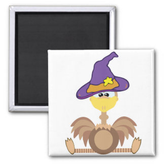 witchy goofkins ostrich 2 inch square magnet