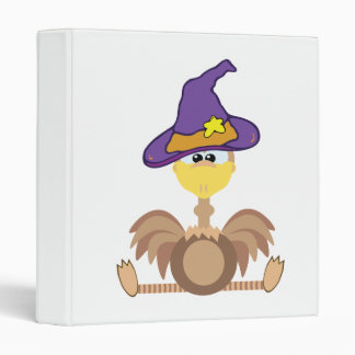 witchy goofkins ostrich 3 ring binder