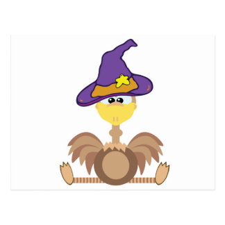witchy goofkins ostrich postcard