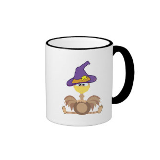 witchy goofkins ostrich ringer coffee mug