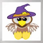 witchy goofkins owl print