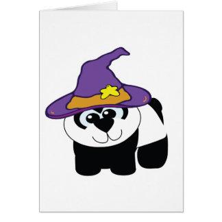 witchy goofkins panda bear greeting cards