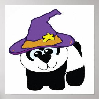 witchy goofkins panda bear print