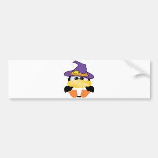 witchy goofkins penguin car bumper sticker