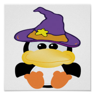 witchy goofkins penguin poster