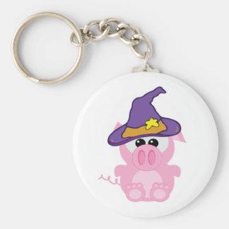 witchy goofkins piggy pig keychains