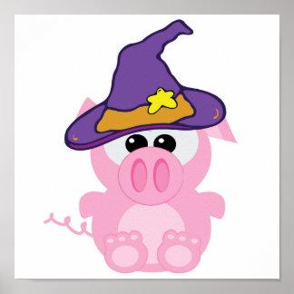 witchy goofkins piggy pig print