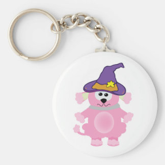 witchy goofkins pink poodle keychains