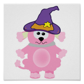 witchy goofkins pink poodle posters