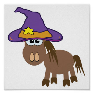 witchy goofkins pony horse print
