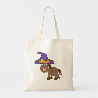 witchy goofkins pony horse tote bag