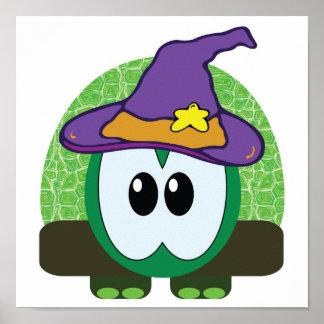 witchy goofkins turtle print