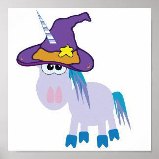 witchy goofkins unicorn poster