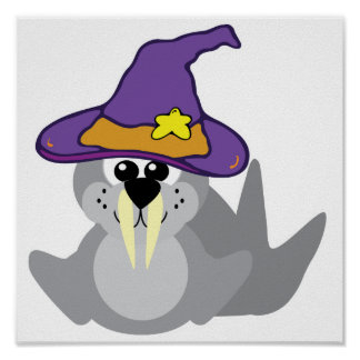 witchy goofkins walrus print