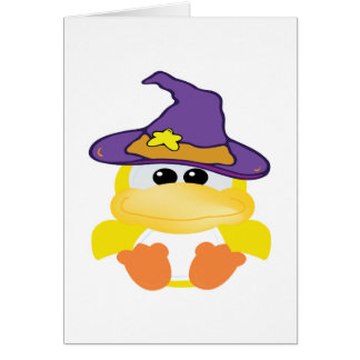 witchy goofkins yellow ducky card