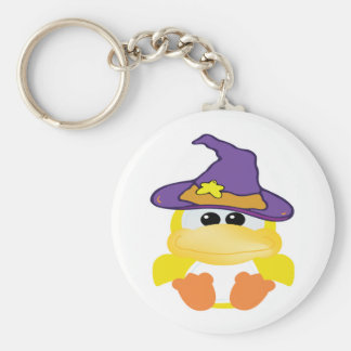 witchy goofkins yellow ducky key chain
