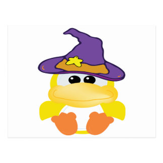 witchy goofkins yellow ducky postcards