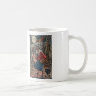 Witchy Greetings Cross Stitch Coffee Mug