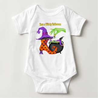 Witchy Halloween Baby Bodysuit