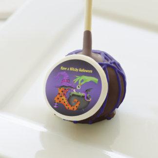 Witchy Halloween Cake Pop