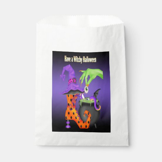 Witchy Halloween Favor Bag