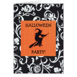 WITCHY HALLOWEEN PARTY GREETING CARD