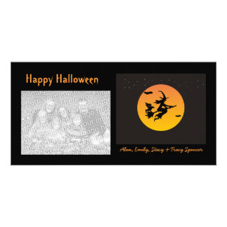 Witchy Halloween Photo Cards