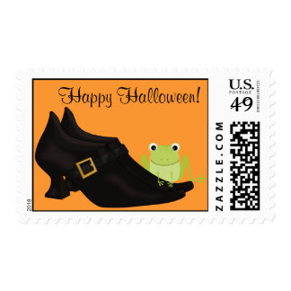 Witchy Halloween Postage