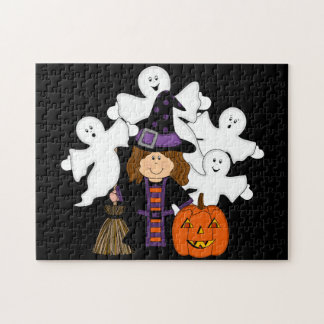Witchy Halloween Puzzle