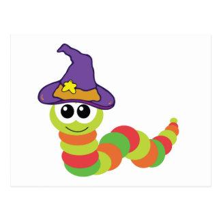 witchy hat goofkins caterpillar II Post Card