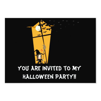Witchy Invitation