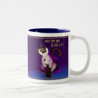 Witchy Kitty mugs