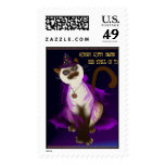 Witchy Kitty poster Postage